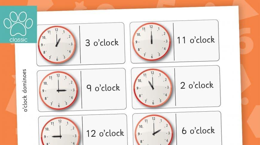 o'clock dominoes