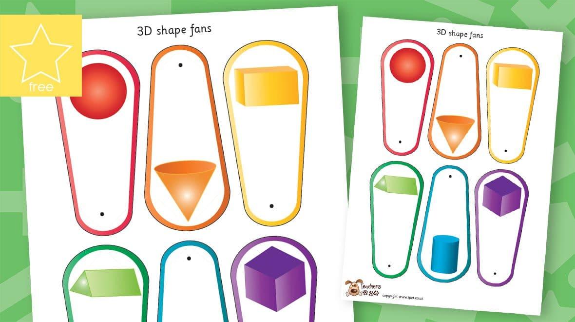 3D shape fans