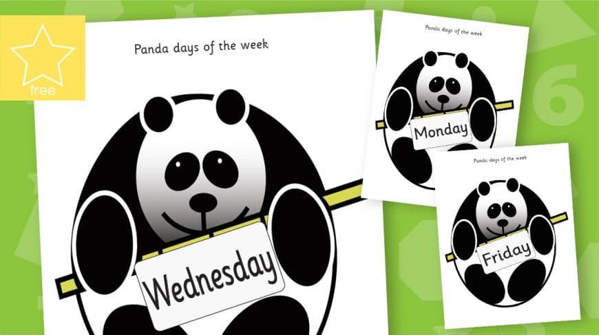 panda days of the week