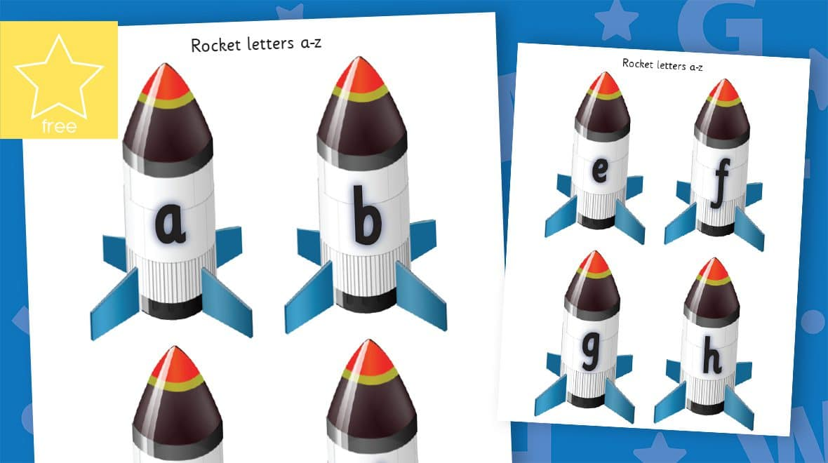 small lower case rockets