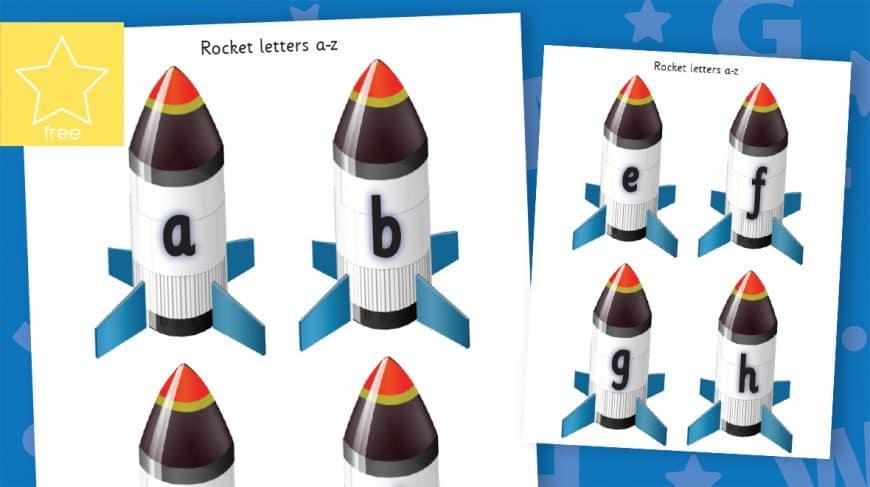 small lower case rockets