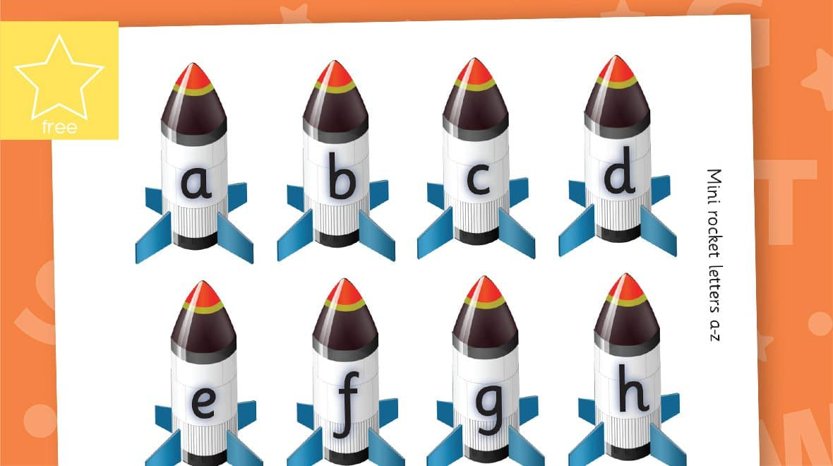 mini lower case rockets