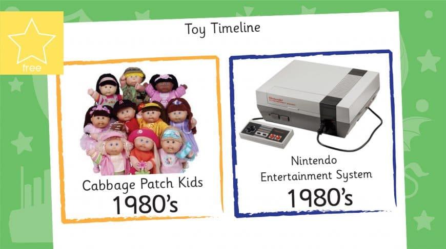 toy timeline