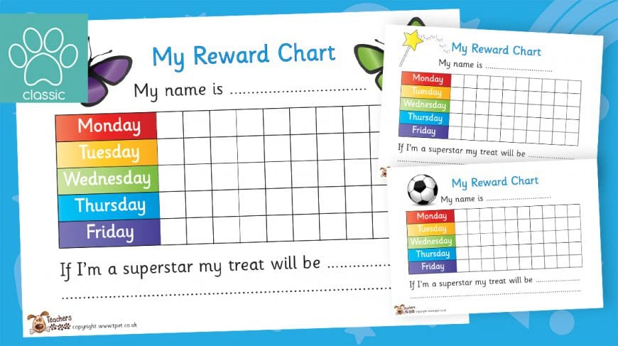 behaviour reward charts