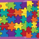 You Fit Right In Jigsaw Puzzle Border