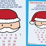 Santa's Beard Christmas Countdown Poster