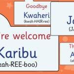 Kenyan Swahili Phrases