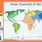 Seven Mountain Summits Of The World Interactive Activity
