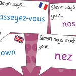French Simon Says Game
