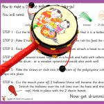 Chinese New Year – Pellet Drum Craft