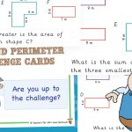 Area and Perimeter Challenge Cards (Pack 3)