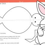 Easter Folding Chick Craft