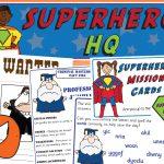 Superhero Headquarters Role-Play Pack