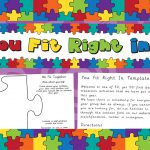 Transition – You Fit Right In Whole Class Activity
