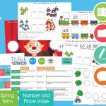 Spring Year 1 Week 1 THINK Maths Teaching Pack