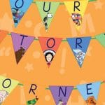 Our Story Corner Bunting