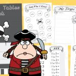 Pirate Times Tables Book