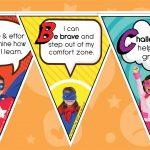 Growth Mindset Superheroes Bunting