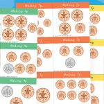 Different Ways to Make – Coin Counting Cards