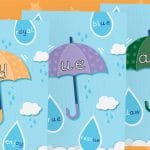 Phase 5 Pack 1 Umbrella Phonic Sound Posters