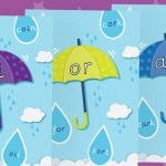 Phase 3 Pack 3 Umbrella Phonic Sound Posters
