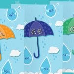 Phase 3 Pack 2 Umbrella Phonic Sound Posters