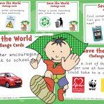 Saving the World Challenge Cards