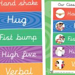Classroom Meet and Greet Choice Poster