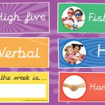 Classroom Meet and Greet Choice Labels