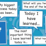 Twitter Learning Display