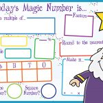 Today's Magic Number Board (KS2)